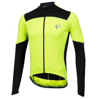 PI Pro Pursuit LS Wind Jersey Screaming Yellow/Black M